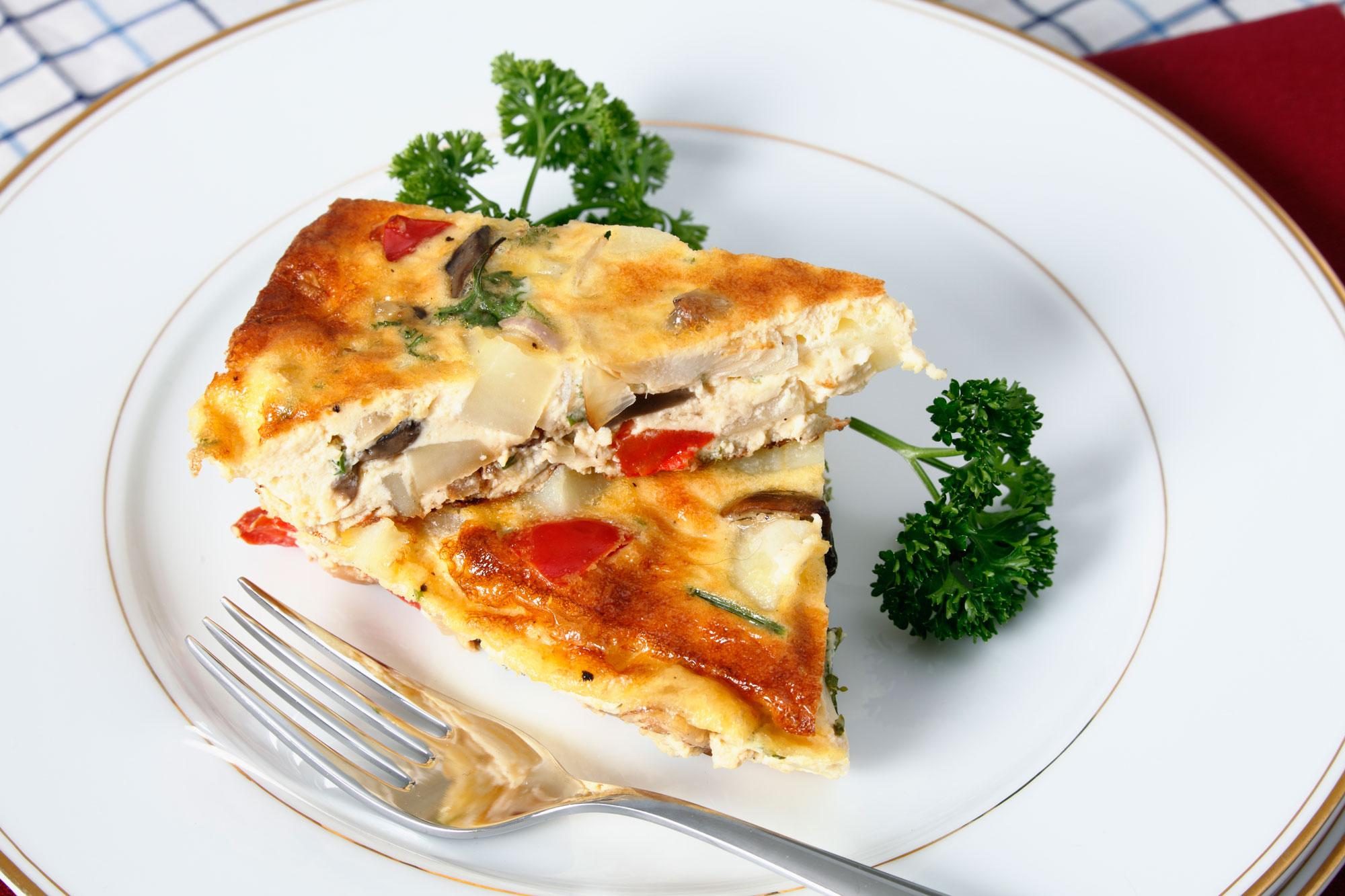 Cheesy Potato Frittata - Personalized Nutrition Concepts ...