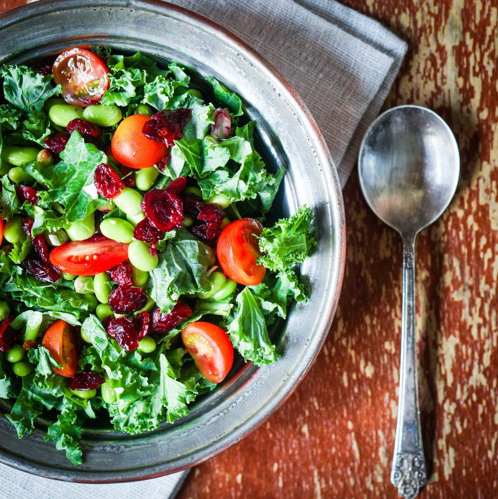 Quick Braised Kale With Goji Berries Cashew By Clean Eating